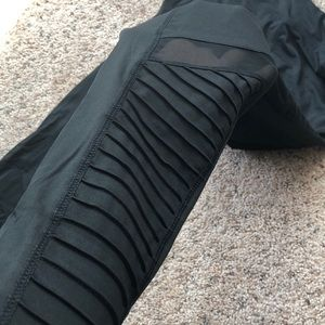 Pants - NWT Black Moto Tights